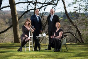 From Left: Karen Reid, Scott Hunter, Campbell Urquhart and Sharon Jack