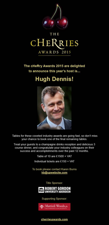 Cherries Host - Hugh Dennis
